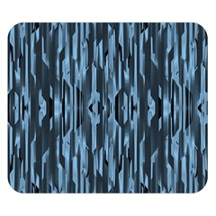 Texture Surface Background Metallic Double Sided Flano Blanket (small)