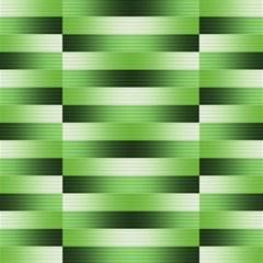Pinstripes Green Shapes Shades Canvas 20  X 20