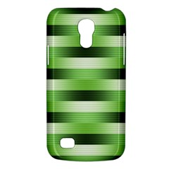 Pinstripes Green Shapes Shades Galaxy S4 Mini