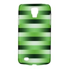 Pinstripes Green Shapes Shades Galaxy S4 Active