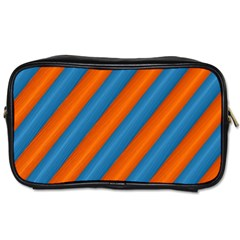 Diagonal Stripes Striped Lines Toiletries Bags