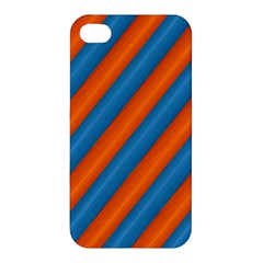 Diagonal Stripes Striped Lines Apple Iphone 4/4s Hardshell Case