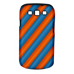 Diagonal Stripes Striped Lines Samsung Galaxy S Iii Classic Hardshell Case (pc+silicone)
