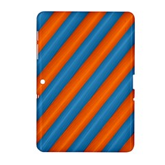 Diagonal Stripes Striped Lines Samsung Galaxy Tab 2 (10 1 ) P5100 Hardshell Case
