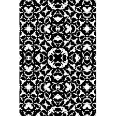 Black And White Geometric Pattern 5 5  X 8 5  Notebooks by dflcprints