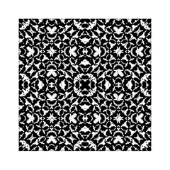 Black And White Geometric Pattern Acrylic Tangram Puzzle (6  X 6 )