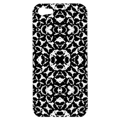 Black And White Geometric Pattern Apple Iphone 5 Hardshell Case by dflcprints