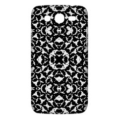 Black And White Geometric Pattern Samsung Galaxy Mega 5 8 I9152 Hardshell Case  by dflcprints