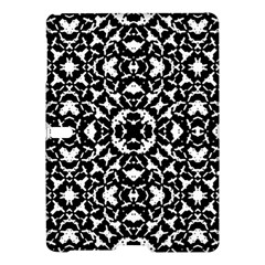 Black And White Geometric Pattern Samsung Galaxy Tab S (10 5 ) Hardshell Case