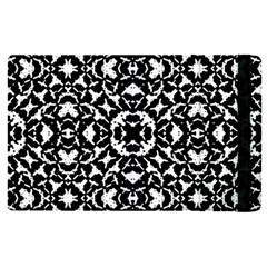 Black And White Geometric Pattern Apple Ipad Pro 9 7   Flip Case by dflcprints