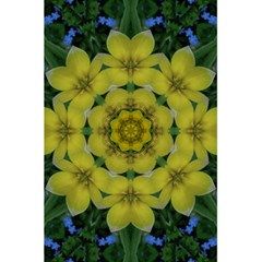Fantasy Plumeria Decorative Real And Mandala 5 5  X 8 5  Notebooks