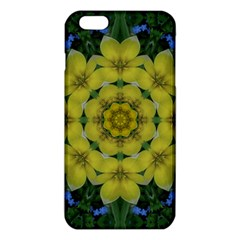 Fantasy Plumeria Decorative Real And Mandala Iphone 6 Plus/6s Plus Tpu Case by pepitasart