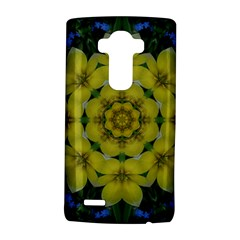 Fantasy Plumeria Decorative Real And Mandala Lg G4 Hardshell Case by pepitasart