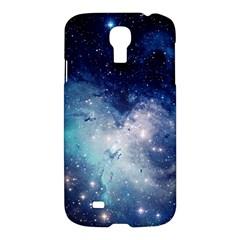 Nebula Blue Samsung Galaxy S4 I9500/i9505 Hardshell Case by snowwhitegirl