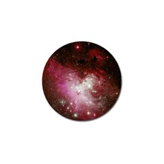 Nebula Red Golf Ball Marker by snowwhitegirl