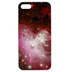 Nebula Red Apple Iphone 5 Hardshell Case With Stand by snowwhitegirl