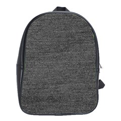 Black Denim School Bag (large) by snowwhitegirl
