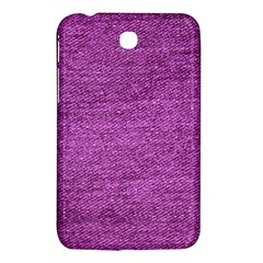 Purple Denim Samsung Galaxy Tab 3 (7 ) P3200 Hardshell Case  by snowwhitegirl