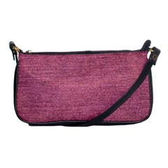 Pink  Denim Shoulder Clutch Bags by snowwhitegirl