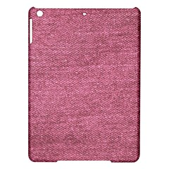 Pink  Denim Ipad Air Hardshell Cases by snowwhitegirl
