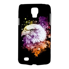 Awesome Eagle With Flowers Galaxy S4 Active by FantasyWorld7