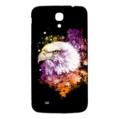 Awesome Eagle With Flowers Samsung Galaxy Mega I9200 Hardshell Back Case