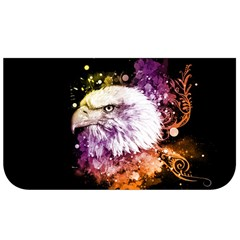 Awesome Eagle With Flowers Lunch Bag by FantasyWorld7