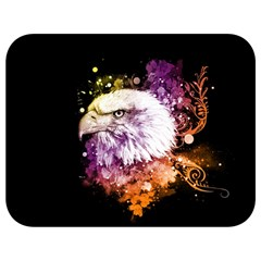 Awesome Eagle With Flowers Full Print Lunch Bag by FantasyWorld7