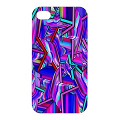 Stars Beveled 3d Abstract Stripes Apple Iphone 4/4s Hardshell Case