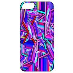 Stars Beveled 3d Abstract Stripes Apple Iphone 5 Classic Hardshell Case