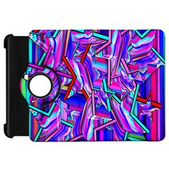 Stars Beveled 3d Abstract Stripes Kindle Fire Hd 7