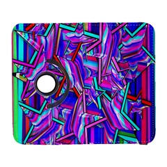 Stars Beveled 3d Abstract Stripes Galaxy S3 (flip/folio)