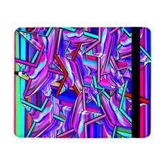 Stars Beveled 3d Abstract Stripes Samsung Galaxy Tab Pro 8 4  Flip Case