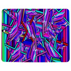 Stars Beveled 3d Abstract Stripes Jigsaw Puzzle Photo Stand (rectangular)
