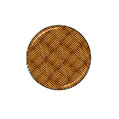 Wood Texture Background Oak Hat Clip Ball Marker (10 Pack)