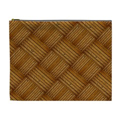 Wood Texture Background Oak Cosmetic Bag (xl)