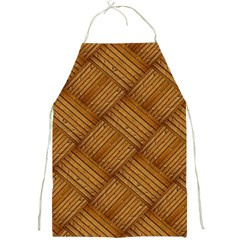 Wood Texture Background Oak Full Print Aprons