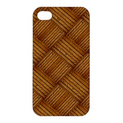Wood Texture Background Oak Apple Iphone 4/4s Hardshell Case