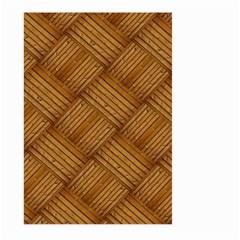 Wood Texture Background Oak Large Garden Flag (two Sides)