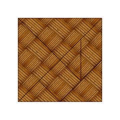 Wood Texture Background Oak Acrylic Tangram Puzzle (4  X 4 )