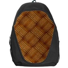 Wood Texture Background Oak Backpack Bag