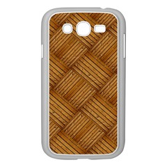 Wood Texture Background Oak Samsung Galaxy Grand Duos I9082 Case (white)