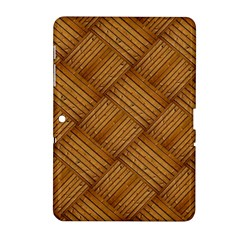 Wood Texture Background Oak Samsung Galaxy Tab 2 (10 1 ) P5100 Hardshell Case