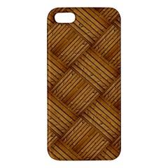 Wood Texture Background Oak Iphone 5s/ Se Premium Hardshell Case