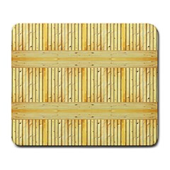 Wood Texture Grain Light Oak Large Mousepads by Nexatart