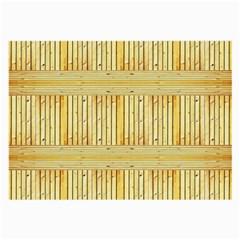 Wood Texture Grain Light Oak Large Glasses Cloth