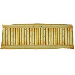 Wood Texture Grain Light Oak Body Pillow Case (dakimakura)