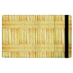 Wood Texture Grain Light Oak Apple Ipad 2 Flip Case
