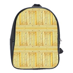 Wood Texture Grain Light Oak School Bag (xl)