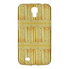 Wood Texture Grain Light Oak Samsung Galaxy Mega 6 3  I9200 Hardshell Case by Nexatart